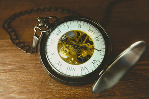 3D clockwork pocket watches model