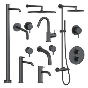 3D faucets shower cisal set
