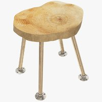 3D loft stool