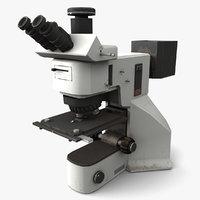 3D model fluorescence microscope