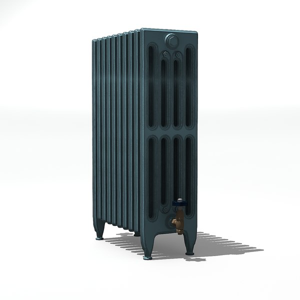 old style radiator 3D model