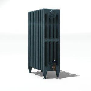 old style radiator 3D model