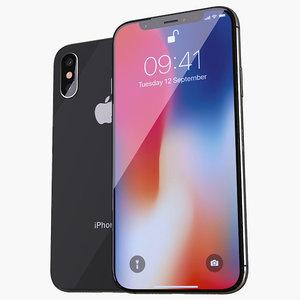 iphone xs x 3D model