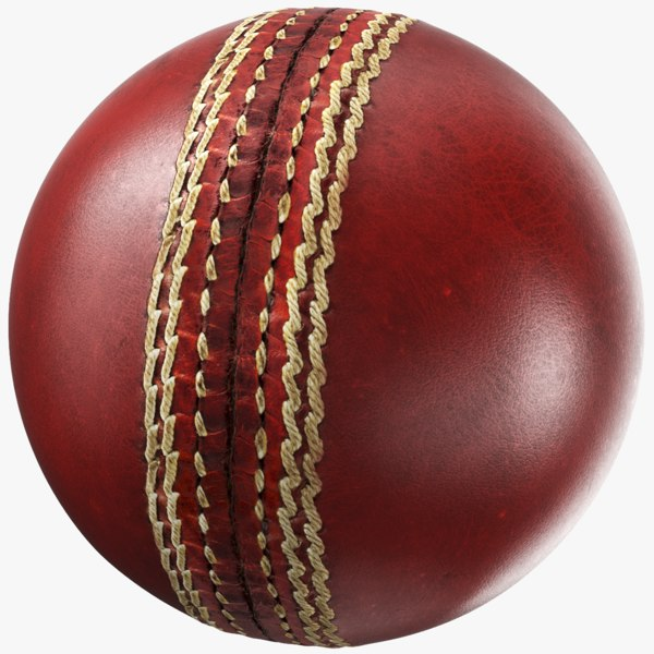 3D generic cricket ball
