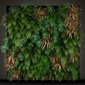 plants 200 3D model