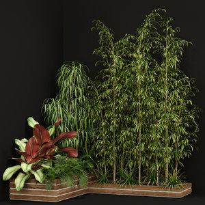 3D plants 201 model