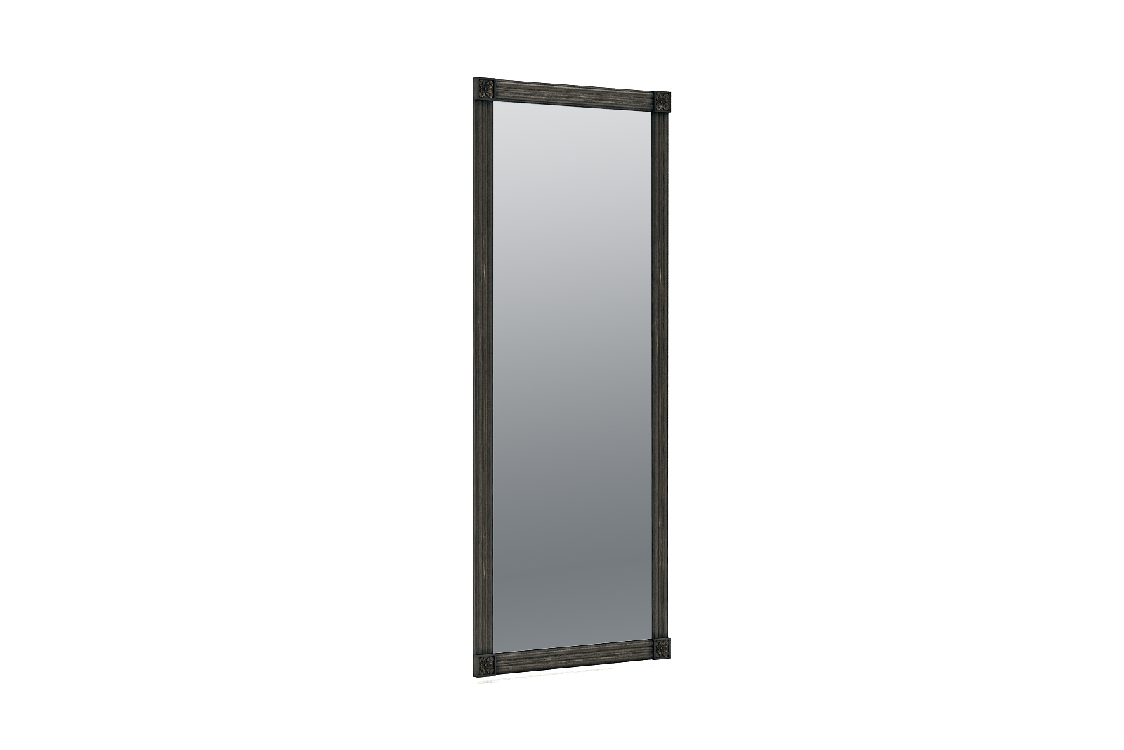 3D old mirror scratches model