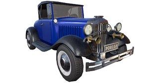 vintage police cars model