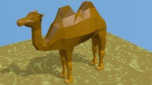 desert animal 3D model