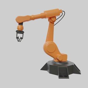 3D rigged blender