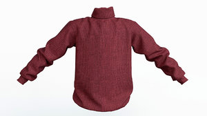 3D sweater jumper clothing