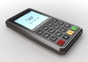 handheld credit card machine model