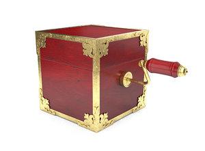 3D ornate box model