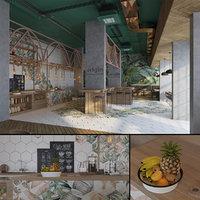 healthy cafe coffee shop model