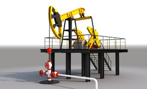 oil pump 3D
