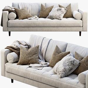 3D article sven sofa model