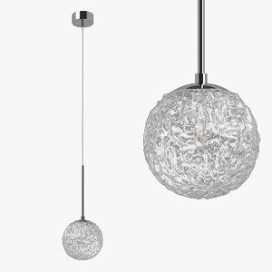 815210 bari lightstar chandelier 3D model
