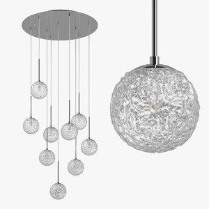 3D model 815290 bari lightstar chandelier