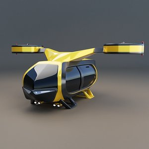 3D flying concept vehicle