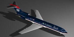 airways 727 3D