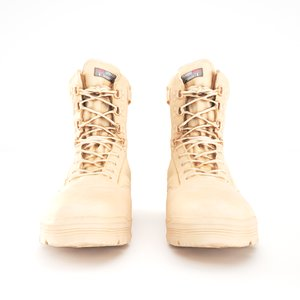 human military boots color 3D