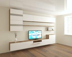 3D tv wall