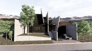 modern house model