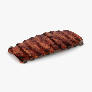 barbecue ribs model