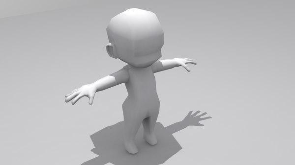 chibi 3D model