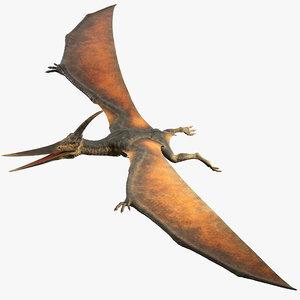 3D pteranodon rig