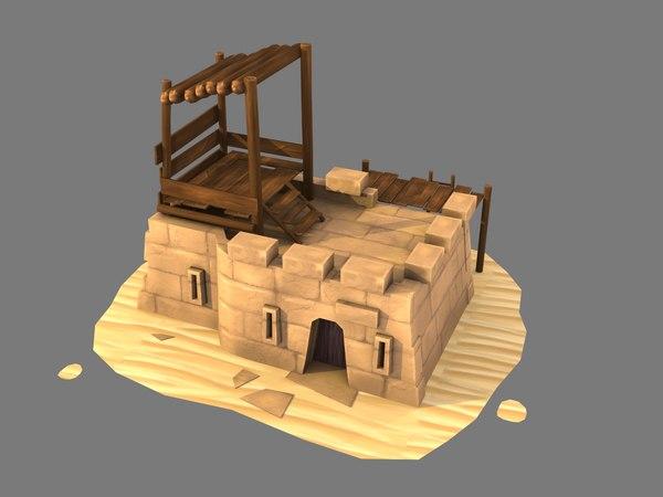 outpost sand model
