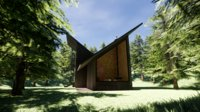 forest house 3D model