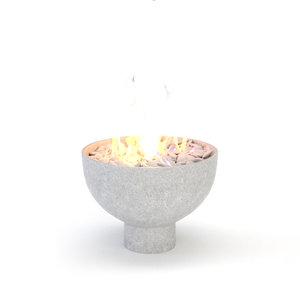 3D architectural visualization bowl