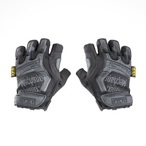 equipped military gloves half-finger 3D