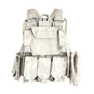 3D equipped military body armor model