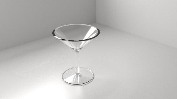 wine glass 5 3D