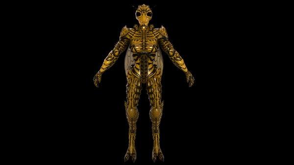3D mutant wasp model