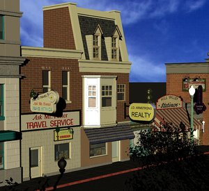 hill valley ask mr 3D model