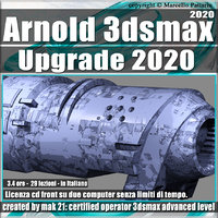 003 Arnold Upgrade in 3ds max 2020 Volume 3 Cd Front