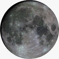 The Moon in Color