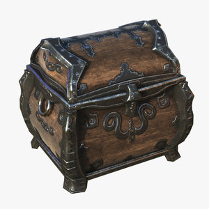 3d rugged chest