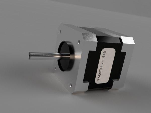 stepper motor nema17 3D