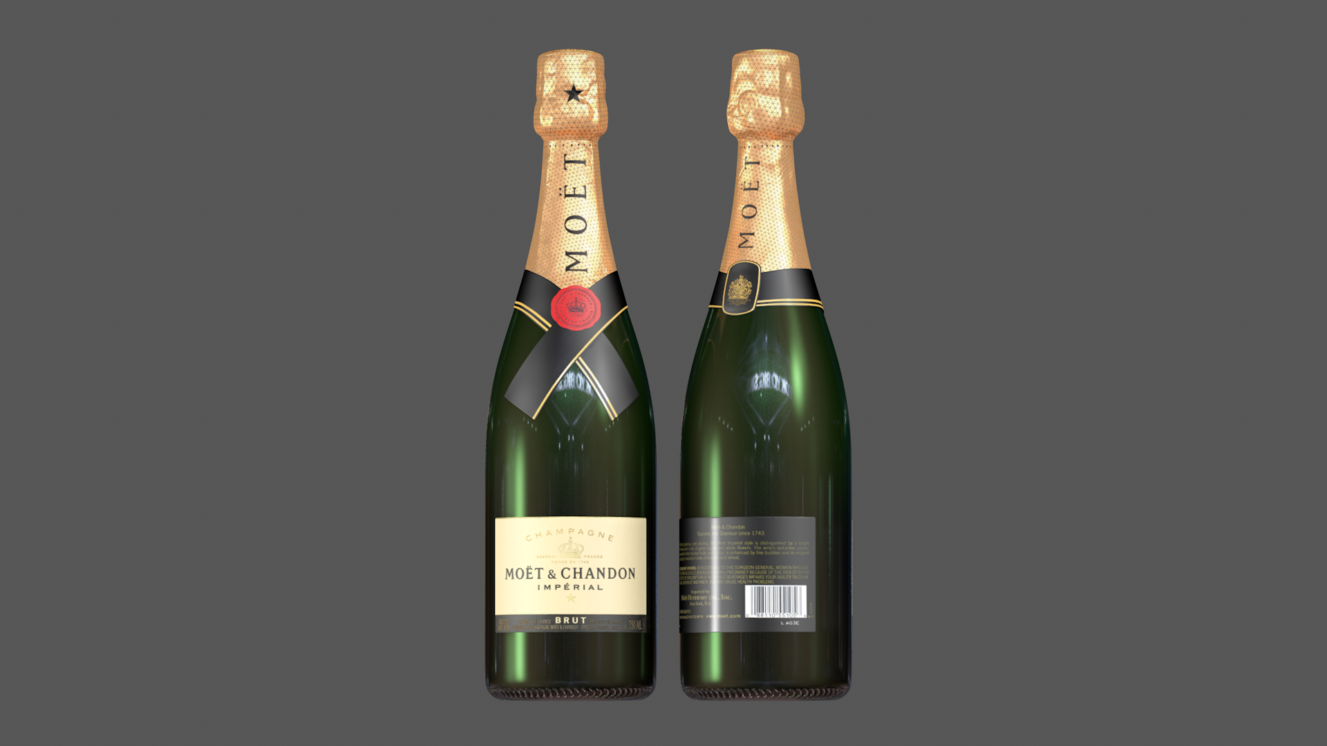 Botella De Champán Moet Chandon