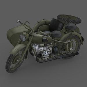 3D imz m-72 model
