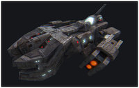 Science fiction spacecraft