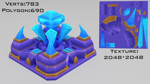 3D nexus stylized model