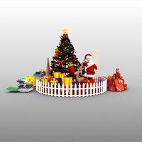 christmas model