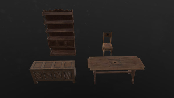 interior chair 3D