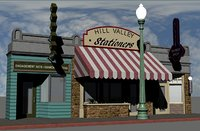 Hill Valley - Zalez Diamonds, Hill Valley Stationers & Elite Barbers