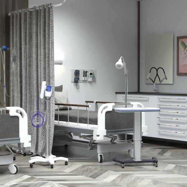 hospital ward model